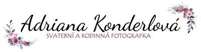 Adriana Konderlová - Fotografie